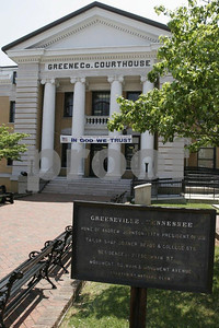 Greeneville is the home of Andrew Johnson, the 17th president of the United States.