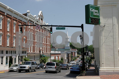 Downtown Greeneville, TN.