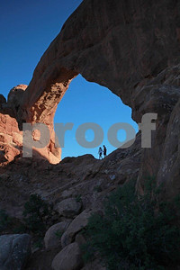 """Arches National Park"" , ""South Window"" , 0421"