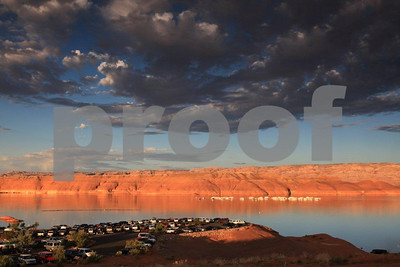 """Lake Powell"", Utah, ""Bullfrog Bay"", 0678"