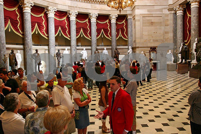 A tour of the Capitol.