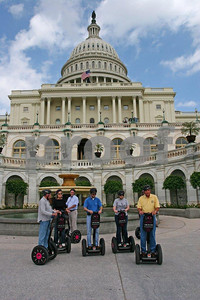 Segway tours of the Capitol.