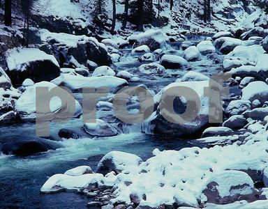 Icicle Creek , Leavenworth
