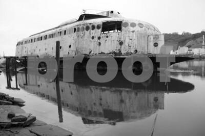 Kalakala 2309: The historic Kalakala ferry as it is today, March 26, 2011, as it awaits restoration.