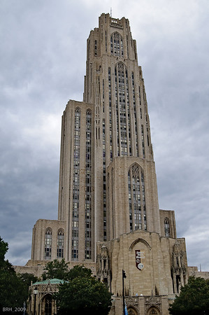 Cathedral Of Learning Pitt Campus Oct 2009