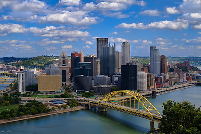 Downtown Pittsburgh Oct 2009