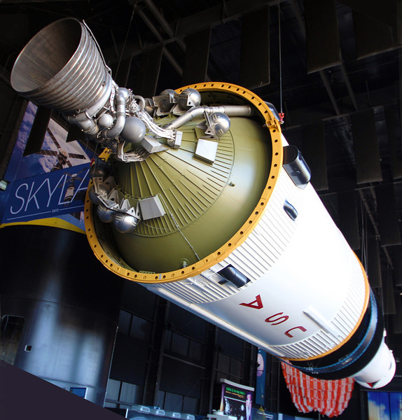 Third stage of the Saturn 5 Rocket