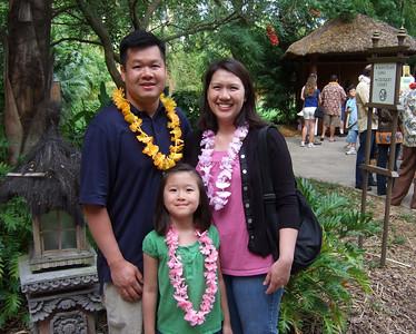 Attending the Wantilan Luau