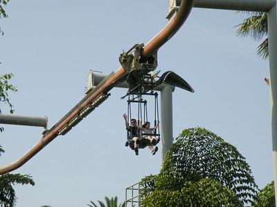 The Pteranodon Flyer ride