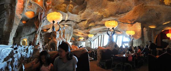 Inside Mythos Restaurant