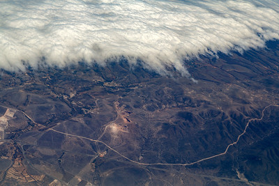 More clouds and mountains, NE Mexico