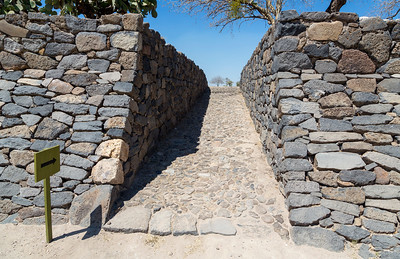 Entrance to the main Peralta excavation