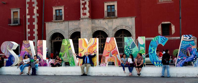 John enjoys being in Salamanca