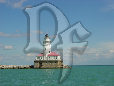 Chicago harbor light. Chicago, IL