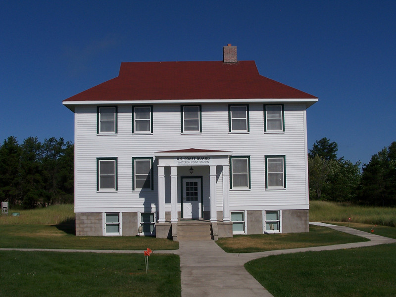 The Crew's Quarters: This house for the lifesaving crew (photo) of the rescue station was established on the site in 1923 and operated until the mid-1950s. It is now used to house staff, interns, members, special guests and underwater research divers.