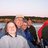 Cinnamon, Warren, Judy & Mike as our sunset cruise draws to an end.
