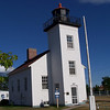 Our first stop of the trip was at Sand Point Lighthouse in Escanaba, MI.
