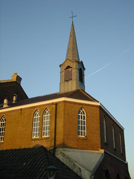 Church on the island of Urk.