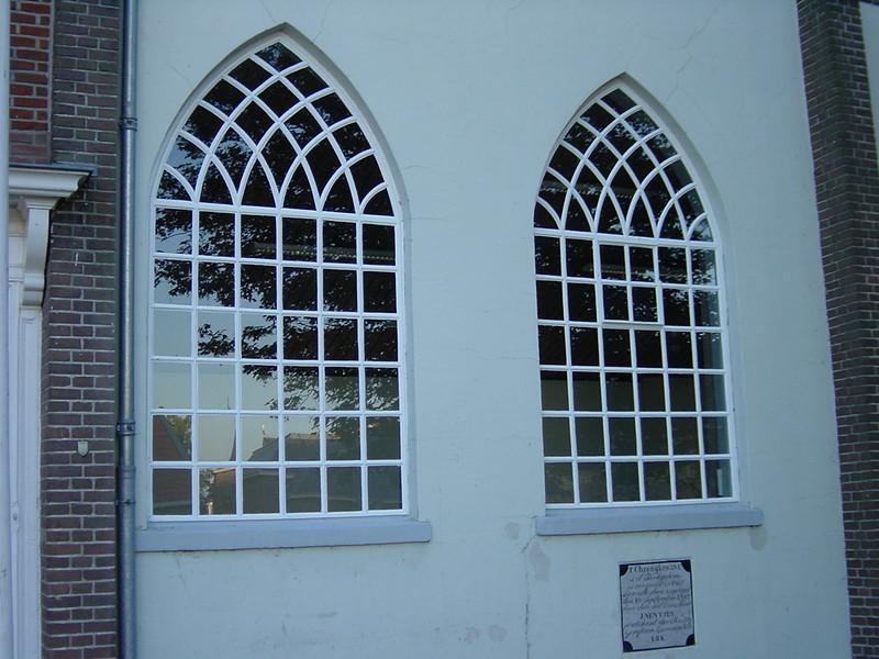 Nice shaped church windows