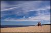 The beautiful beaches of Punta del Este, Uruguay