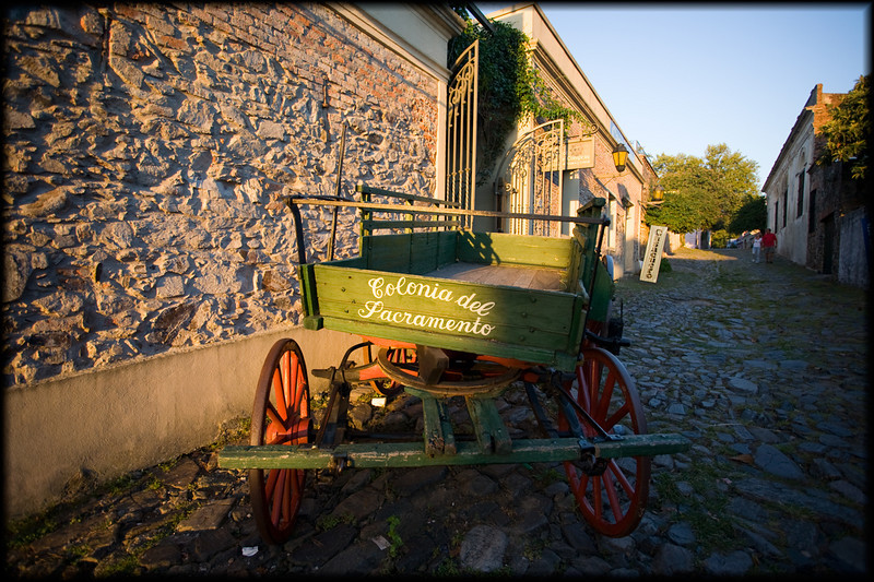 Just across the water from Buenos Aires, the beautiful Colonia del Sacremento