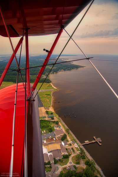 On a Biplane