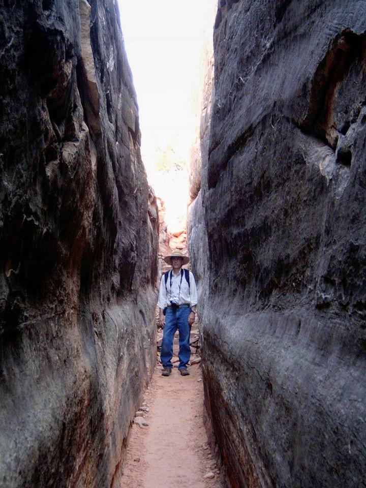 Gary, Chesler Park Trail, Canyonlands National Park, Utah.