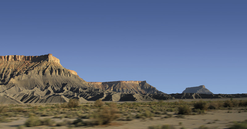 More mesas  on the way to Hanksville.