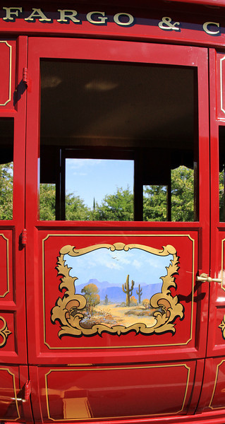 Door of the coach.