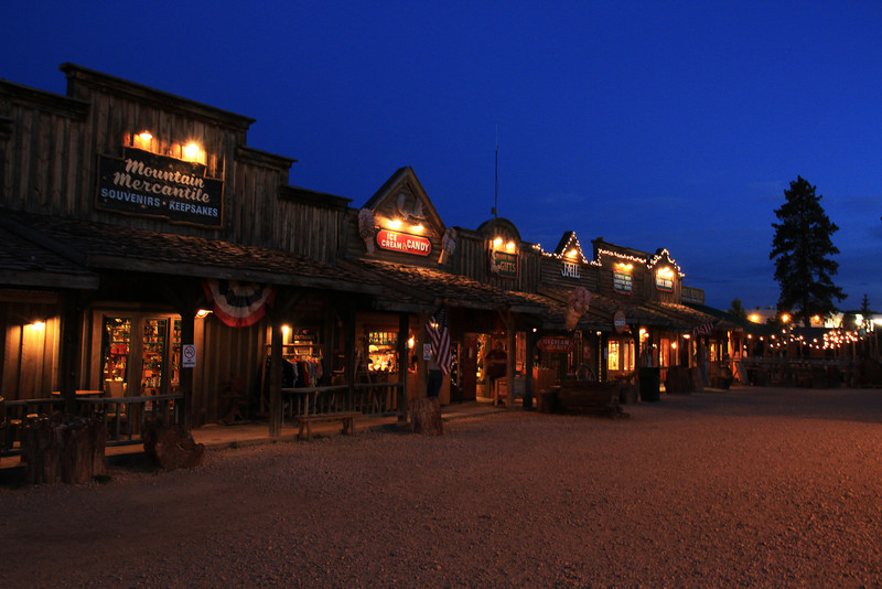 """Old Bryce Town"" boardwalk.  (One of Ruby's tourist traps!)"