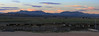 Panorama of the sunset over Ruby's Rodeo Ground.