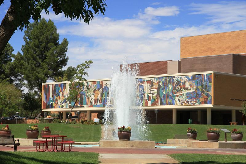 Quadrangle at Dixie State University.