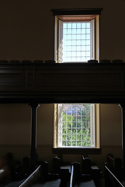 Windows in the Tabernacle.