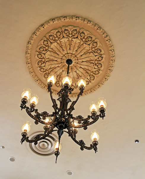 Chandelier in the Tabernacle.