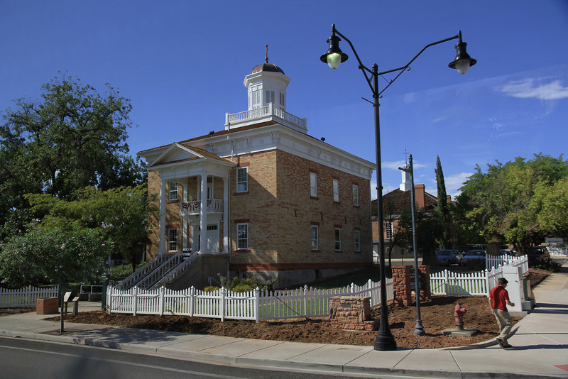 The Saint George Courthouse.