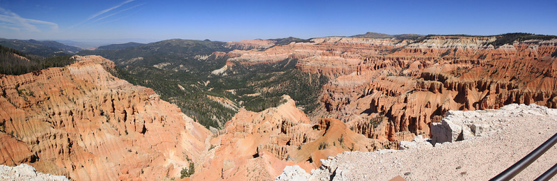 Panorama from Point Supreme by the visitors center.