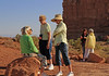 Ladies discussion group at Balanced Rock