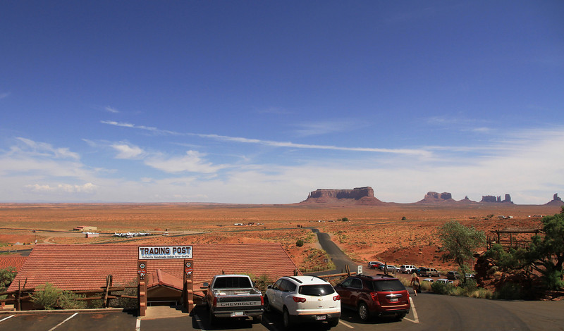 Gouldings Trading Post at Monument Valley.