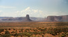 First view of Monument Valley.