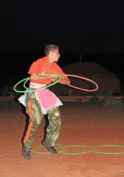 Hoop dance.
