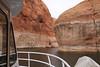 In the Rainbow Bridge canyon.
