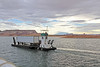 One of the supply barges that go up and down Lake Powell.