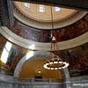 Murals along rotunda, Utah State Capitol