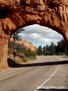 Stone Arch on Red Rock Canyon Road
