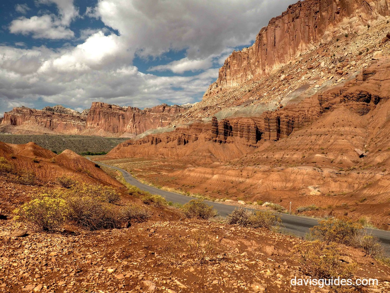 Waterpocket fold and scenic drive, Capitol Reef National Park