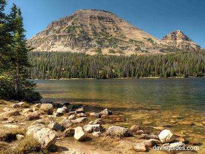 Bald Mountain from Mirror Lake, Utah