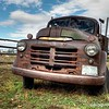 Old truck, Fielding Garr Ranch, Antelope Island, Utah