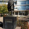Brigham Young statue at BYU