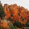 Along Red Rock Canyon Road near Panguitch Utah