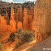 Sunset along Fairyland Trail, Bryce Canyon National Park